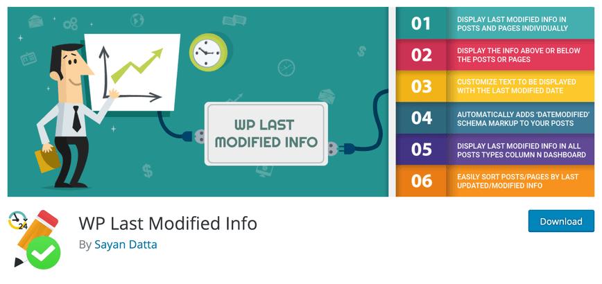 wordpress plugin voor datum update in google