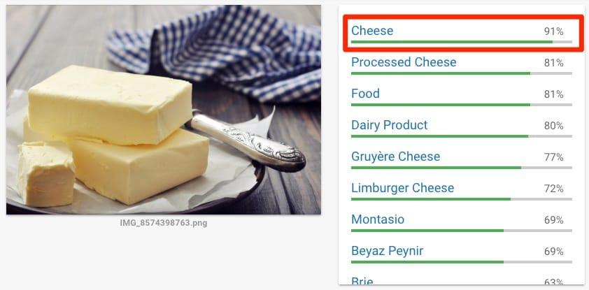 Google ziet boter als kaas